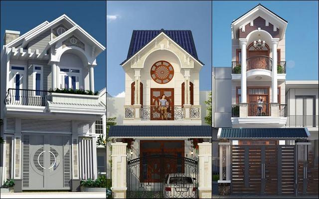 Thiết kế nhà phố mái ngói đang là xu hướng hiện nay