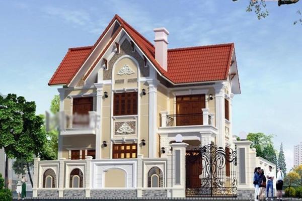 Giới thiệu mẫu nhà 2 tầng hình chữ l diện tích 90m2 - Hình 2