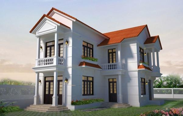 Các mẫu nhà 2 tầng hình chữ l ở nông thôn giá rẻ - Hình 2