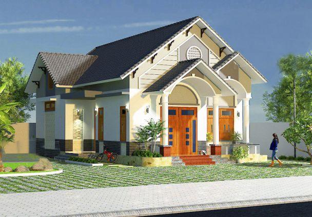 Thiết kế nhà cấp 4 3 phòng ngủ 150m2