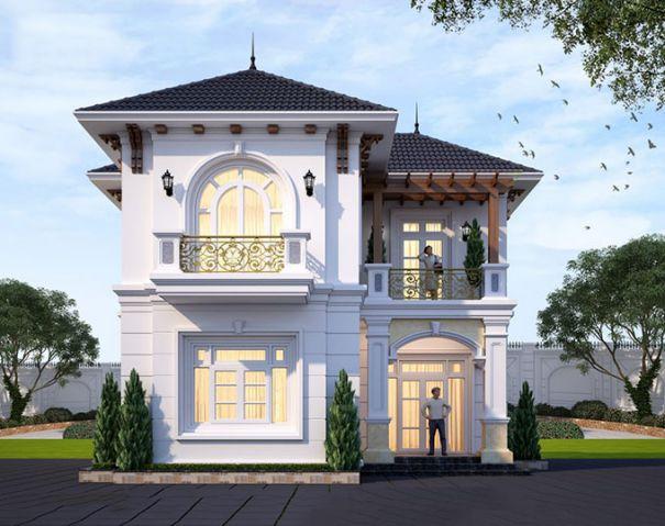 Những mẫu biệt thự mini 2 tầng xu hướng mới - Hình 3