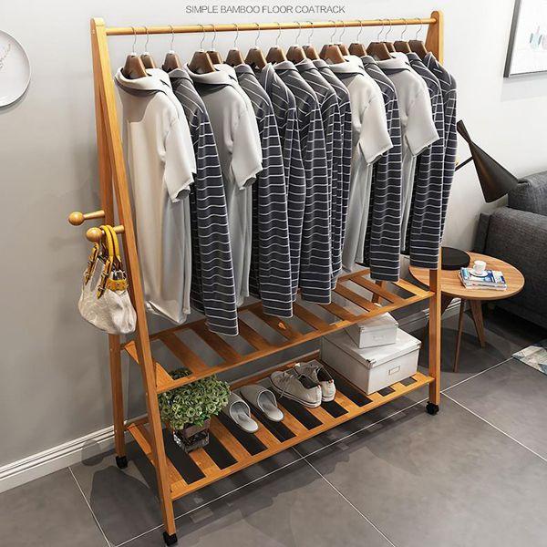 Mẫu giá treo quần áo chữ a bằng gỗ đẹp