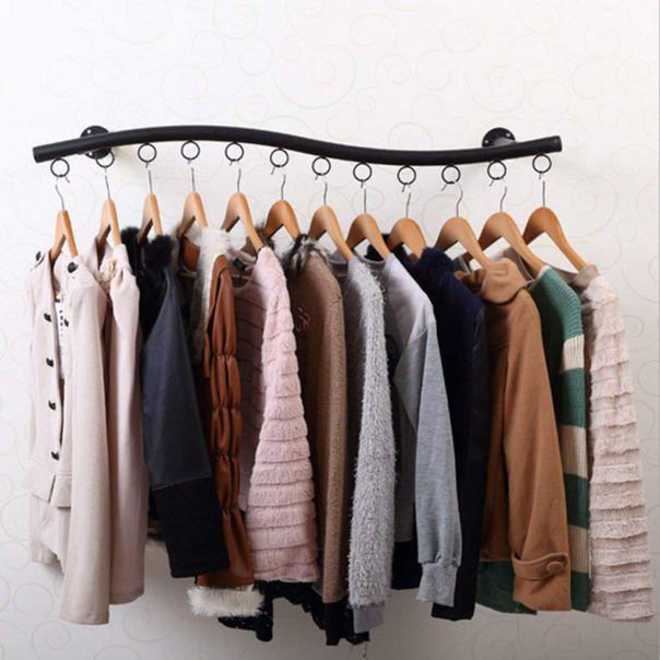 Hình ảnh giá treo quần áo gắn tường
