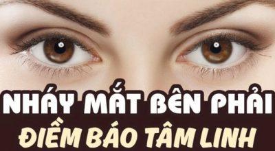 Nháy mắt phải liên tục báo hiệu điềm gì?