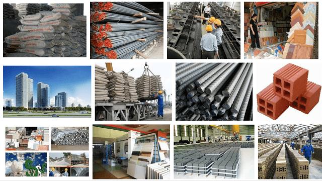 Tham khảo bảng giá vật liệu xây dựng mới nhất hôm nay