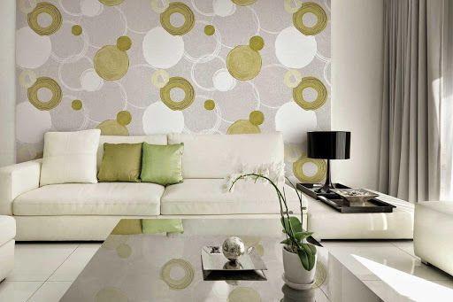 Chiểm ngưỡng loại giấy dán tường hàn quốc phòng khách