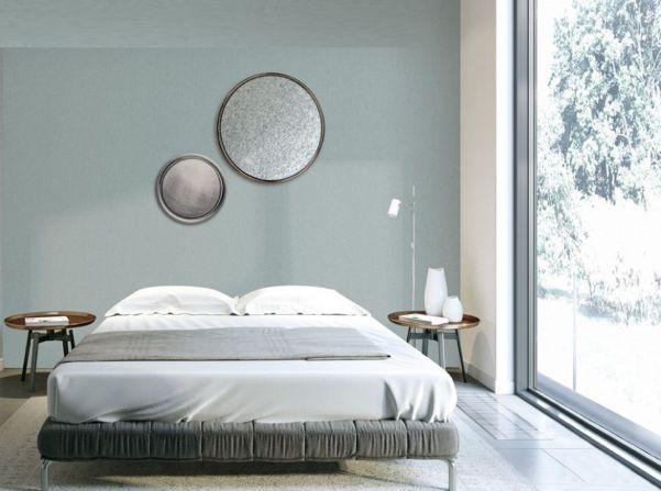 Các loại giấy dán tường màu xám đẹp cho phòng ngủ