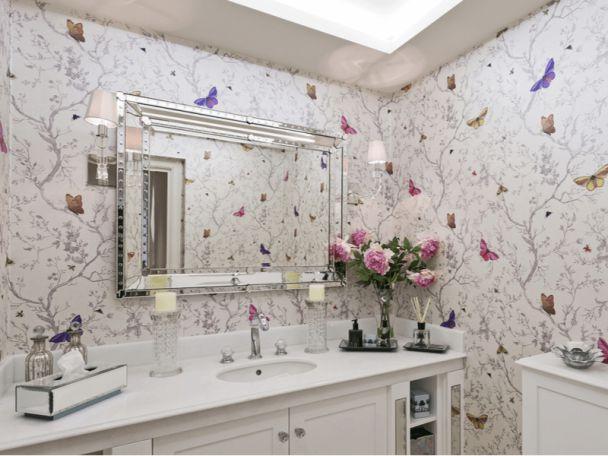 Những mẫu giấy dán tường nhà tắm cực đẹp hiện nay