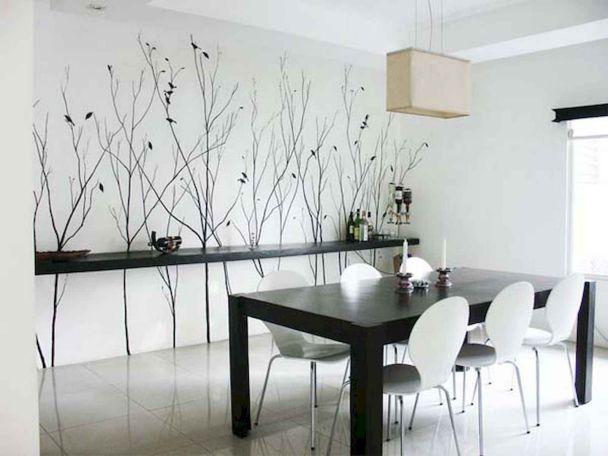 Hình ảnh mẫu giấy dán tường phòng ăn đẹp - Số 2