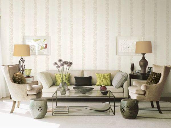 Giấy dán tường phòng khách đẹp nhất hiện nay - Hình số 3