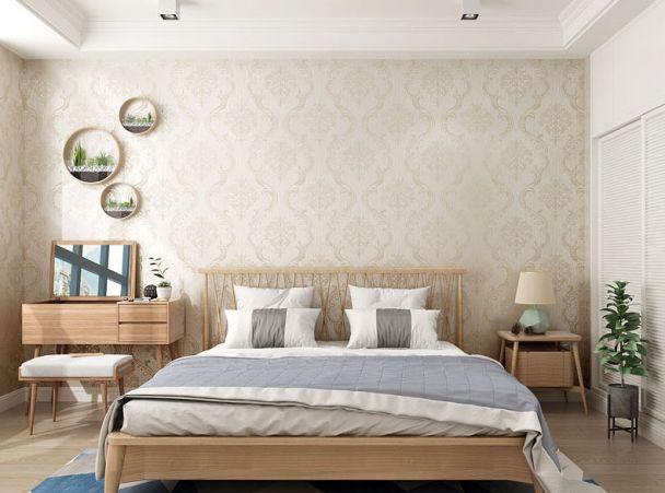 Các mẫu giấy dán tường phòng ngủ đẹp - Hình 1
