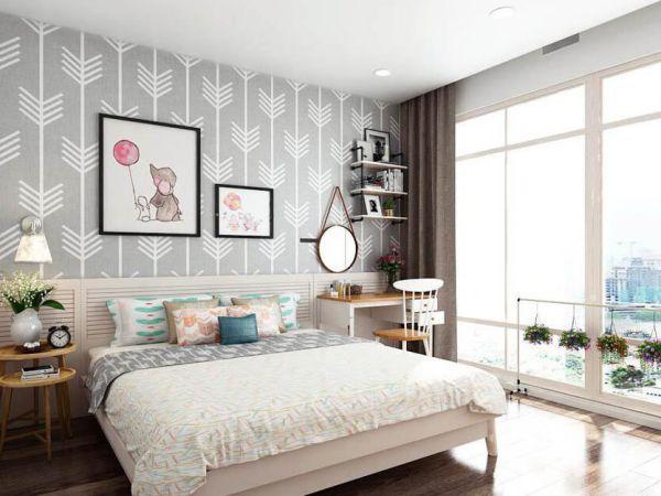 Các mẫu giấy dán tường phòng ngủ đẹp - Hình 2