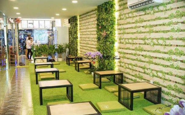 Khám phá các loại giấy dán tường dành cho quán ăn