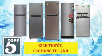 Tổng hợp các kích thước tủ lạnh cơ bản hiện nay