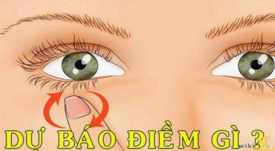 Nháy mắt trái ở nam giới và nữ giới có điềm gì không?