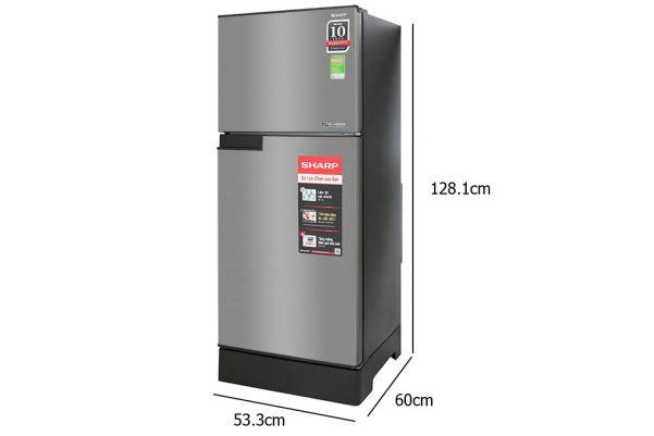 Tủ lạnh 2 cánh Inverter Sharp SJ-X176E-SL