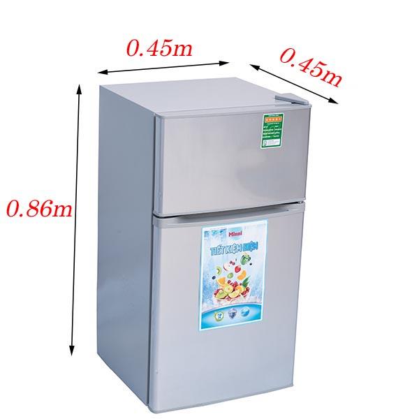 Tủ lạnh 90 lít 2 cửa Sinni