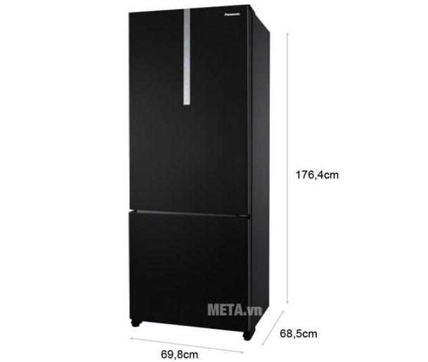 Tủ lạnh Panasonic 410 lít 2 cánh Inverter NR-BX460XKVN