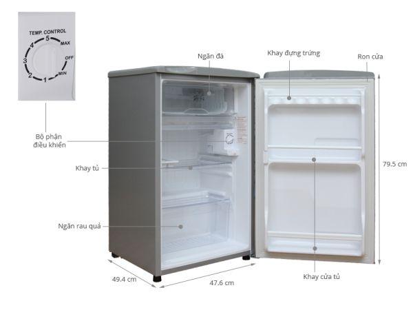 Tủ lạnh mini Toshiba GR-V90 - 90L
