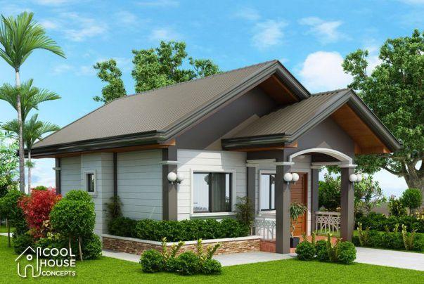 Thiết kế nhà vườn cấp 4 diện tích 50m2