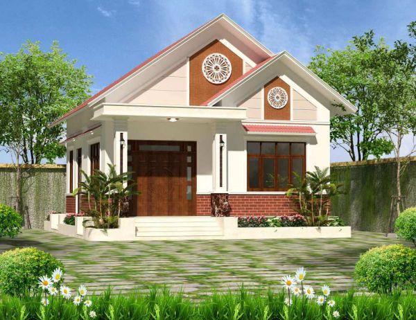 Các mẫu thiết kế nhà vườn cấp 4 đẹp - Hình 1