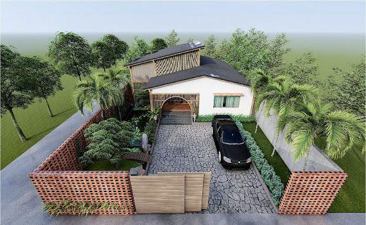 Xu hướng thiết kế nhà vườn mái nhật hiện đại