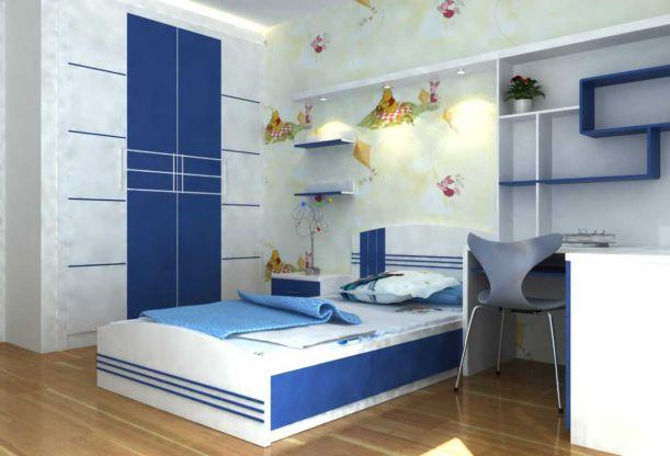 Cách trang trí làm đẹp phòng ngủ cho trai - Mẫu 1