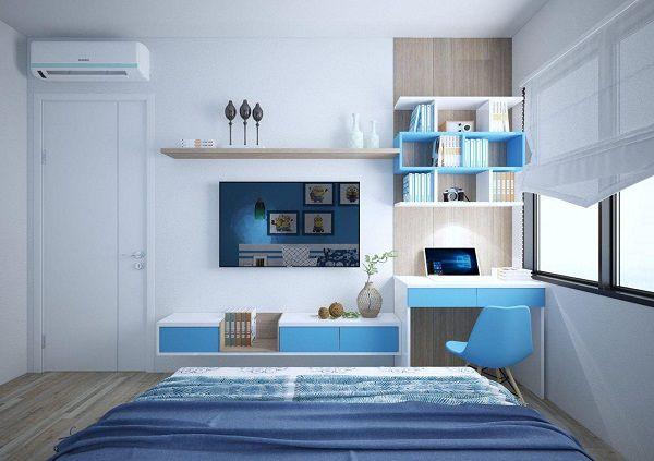 Cách trang trí làm đẹp phòng ngủ cho trai - Mẫu 4