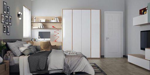Mẫu nội thất phòng ngủ cho nam đẹp cuốn hút - Hình 4