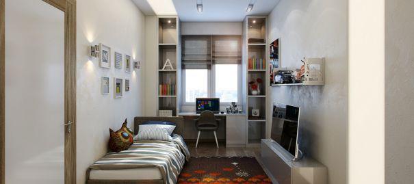 Mẫu nội thất phòng ngủ cho nam đẹp cuốn hút - Hình 5
