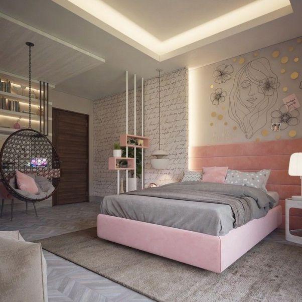 Thiết kế nội thất phòng ngủ cho nữ đẹp mê ly - Hình 2