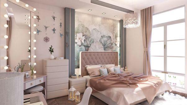 Thiết kế nội thất phòng ngủ cho nữ đẹp mê ly - Hình 3