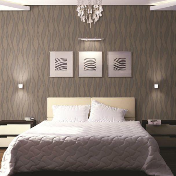 Cách trang trí phòng ngủ bằng giấy dán tưởng đẹp - Hình 2