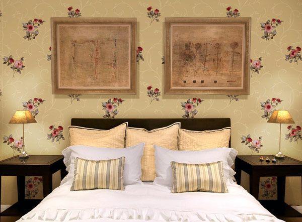 Cách trang trí phòng ngủ bằng giấy dán tưởng đẹp - Hình 3