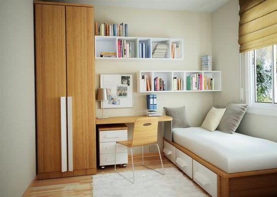 Trang trí phòng ngủ nhỏ hẹp đẹp nhất hiện nay - Hình 1