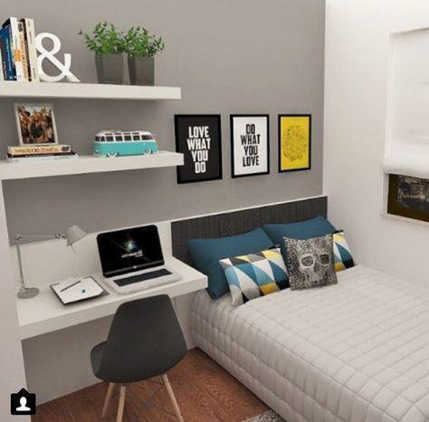 Trang trí phòng ngủ nhỏ hẹp đẹp nhất hiện nay - Hình 2