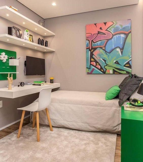 Trang trí phòng ngủ nhỏ hẹp đẹp nhất hiện nay - Hình 3
