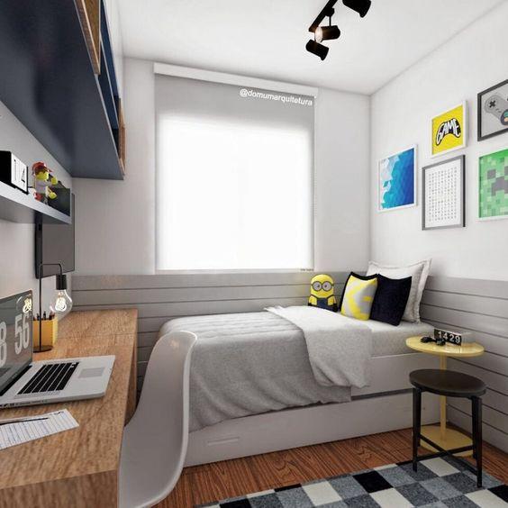 Trang trí phòng ngủ nhỏ hẹp đẹp nhất hiện nay - Hình 4