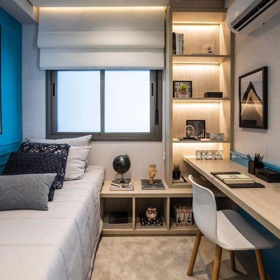 Trang trí phòng ngủ nhỏ hẹp đẹp nhất hiện nay - Hình 5