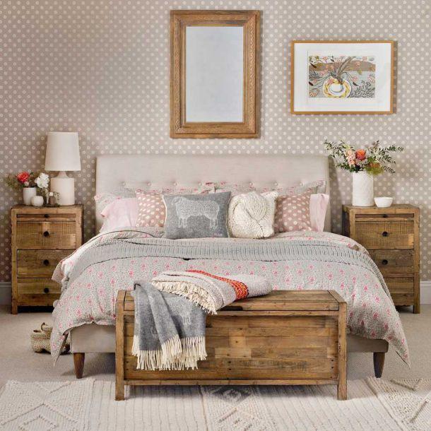 Thiết kế nội thất phòng ngủ vintage đẹp trong năm - Ảnh 2