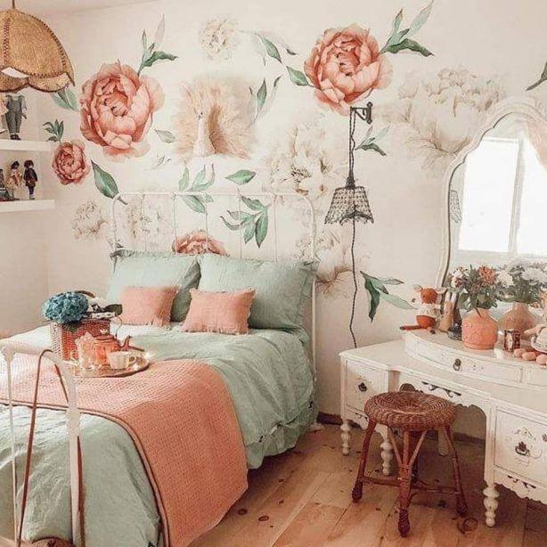 Thiết kế nội thất phòng ngủ vintage đẹp trong năm - Ảnh 5