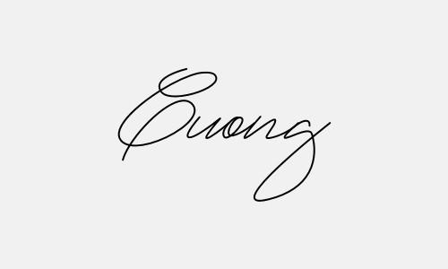 Kiểu chữ ký tên Cường đẹp nhất