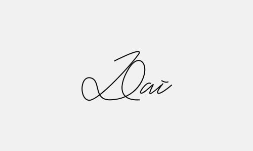 Kiểu chữ ký tên Đại đẹp nhất