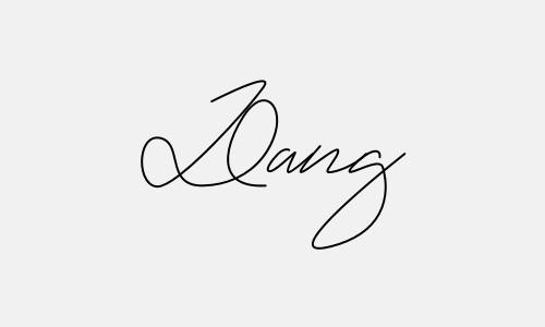 Kiểu chữ ký tên Đăng đẹp nhất
