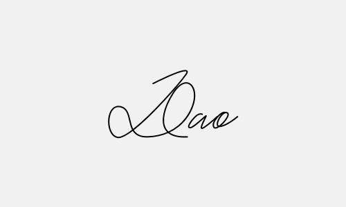 Kiểu chữ ký tên Đào đẹp nhất