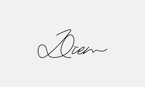 Kiểu chữ ký tên Diễm đẹp nhất