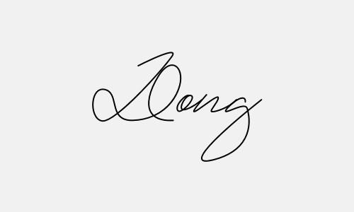 Kiểu chữ ký tên Đông đẹp nhất