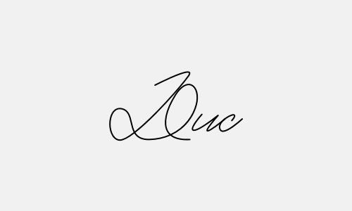 Kiểu chữ ký tên Đức đẹp nhất