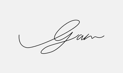 Kiểu chữ ký tên Gấm đẹp nhất