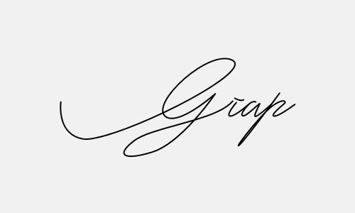 Kiểu chữ ký tên Giáp đẹp nhất
